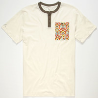 ALTAMONT Cultus Mens Pocket Henley | Graphic Tees