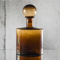 Brown Coulter Flask with Stopper | Stopper Flask | Ornamental Bottle