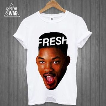 DCCKSU9 Dope supreme swag hipster Fresh Prince t-shirt NWA Homies Obey Disobey Cross OFWGKTA d