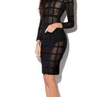 Abree Bandage Dress