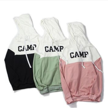 Autumn new couple sweater hooded hooded sweatshirt college fashion coat men and women trend