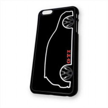 VW GTI MkV Silhouette for iphone 6 case
