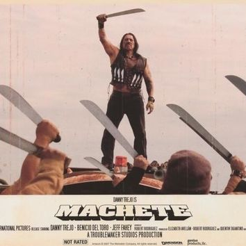 Machete 27x40 Movie Poster (2010)
