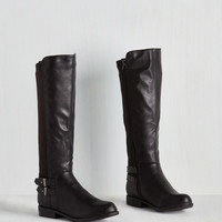 Meandering Standards Boot in Ink | Mod Retro Vintage Boots | ModCloth.com