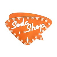 Soda Shop Marquee Sign