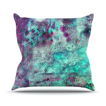 """Sylvia Cook """"Think Outside the Box"""" Throw Pillow"""