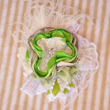 Top Of The Mornin' boutique headband - M2M Persnickety Little Bo Peep Spring 2014 - St. Patrick's Day -- DELIVERED by St. Patricks Day!