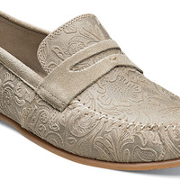 Florian moc toe penny loafer by Stacy Adams