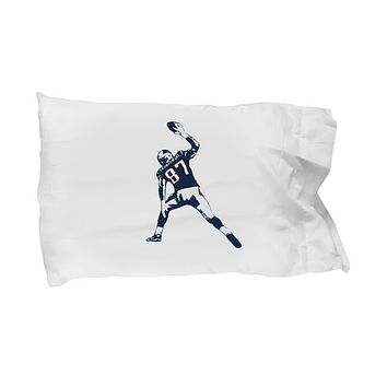 Tight End Touch Down Spike Gronk Bedding Pillow Case