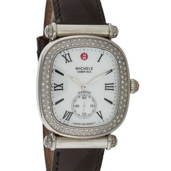 Michele Caber Isle Diamond Watch
