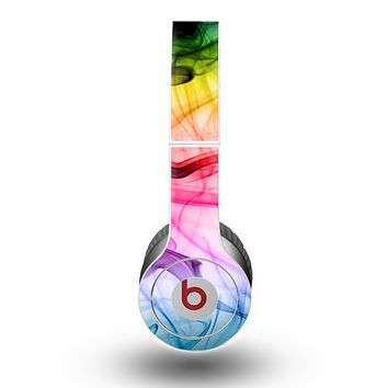 The Neon Glowing Fumes Skin for the Beats by Dre Original Solo-Solo HD Headphones