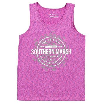 Schools Out Forever Tank in Purple & Pink by Southern Marsh