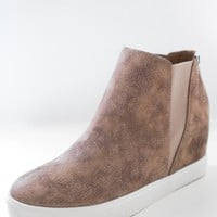 Tylie Sneaker Wedges - Natural