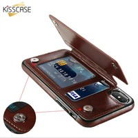 Leather Phone Case For iPhone with Card Holder