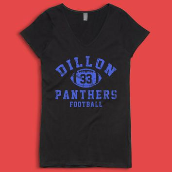 Dillon Panthers Football Women'S V Neck