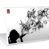 "GelaSkins Protective Skin for 13.3 & 14.1"" PC and Mac Laptops - ""Blow Fish"""