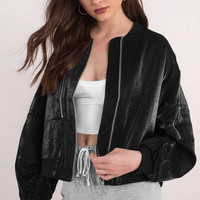 cropped baggy bomber jacket - Google Search
