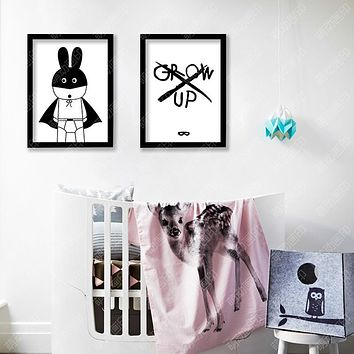 Wall Art Canvas Painting New Nordic Decoration Batman Posters And Prints Wall Pictures For Living Room Cuadros No Poster Frame