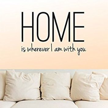 Wall Decal Vinyl Sticker Decals Art Decor Design Lettering Sign Home Family Inspiritional Words Big latters Living Room Bedroom (r223)