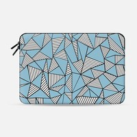 Ab Blocks Blue #2 Macbook 12 sleeve by Project M | Casetify
