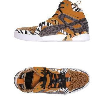 puma slipstream high top animal print sneakers  number 1