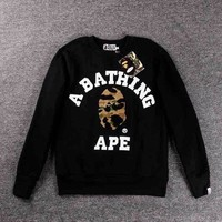 PEAPON5L Bape Couples long sleeves round neck [10597760647]