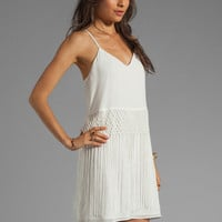 Dolce Vita Kimi Fringe Dress in White from REVOLVEclothing.com