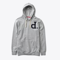 Un-Polo Pullover Hood in Heather Grey