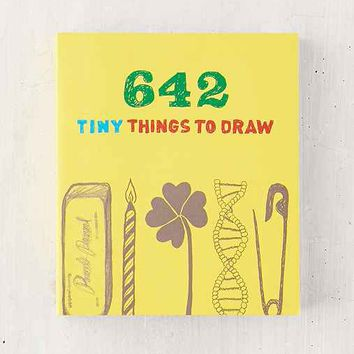 642 Tiny Things To Draw By Chronicle Books
