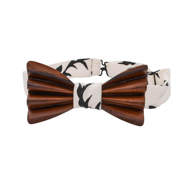 The Wembly Bolivian Rosewood Bowtie | Oh Deer