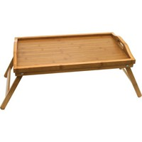 Lipper International Bamboo Bed Tray with Folding Legs - Walmart.com