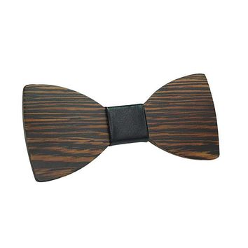 Wooden Men Boy Bow Tie Butterfly Wooden Bowties For Party Shirts Clothes Bowties