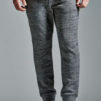 On The Byas The Drop Fit Dark Gray Fleece Jogger Pants - Mens Pants - Gray