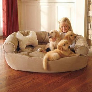 Dog Comfy Couch X-large   Pet Products   SkyMall