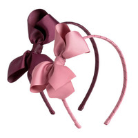 2-pack Hairbands with Bow - from H&M