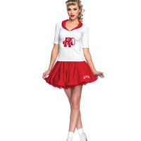 Grease Rydell High Cheerleader Adult Womens Costume – Spirit Halloween