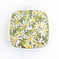 1970s Daisy Thermo-Serv / Retro Serving Dish / Vintage 2 QT Insulated Covered Casserole Dish With Lid