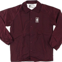 Girl Coach Wilson Jacket XLarge burgundy