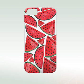 Summer phone case,Watermelon iphone,Summer iphone case, Iphone 6 case , Iphone 5 case, Iphone 4 case, watermelon i6 phone