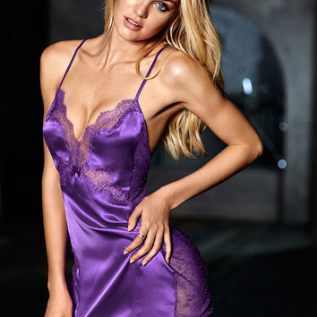 Lace-side Satin Slip - Very Sexy - Victoria's Secret