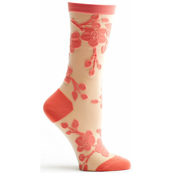 Sheer Orchid Sock