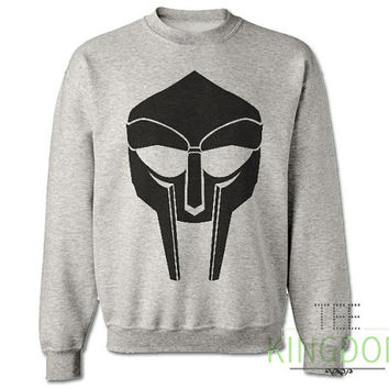 MF M.F. DOOM Sweatshirt Sweater Jumper Inspired Tribute Dangerdoom Madvillain Mask Doomsday Food Rap Hip Hop Mens & Womens All Sizes xs-xxxl