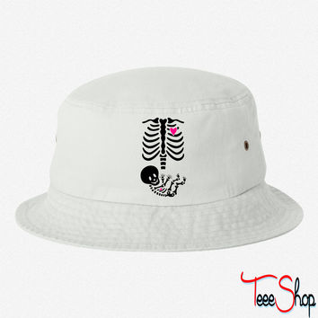 Full Maternity Skeleton X ray MP bucket hat
