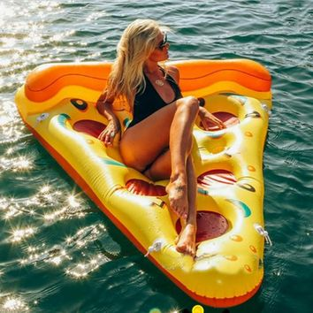 188*150cm Inflatable Pizza Water Sport Float Toy