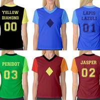 PREORDER Steven Universe Inspired Sports Jersey Cosplay