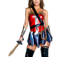 Enchanted Sexy Comic Book Hero Costume