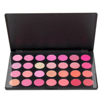28 Colors Professional Makeup Blush Blusher Palette
