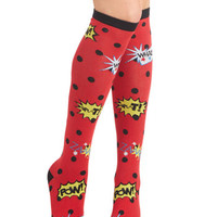 ModCloth Quirky Cartoon Time Socks