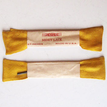 Vintage Shoe Laces Made in USA NEW Vintage