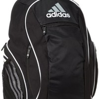 adidas Estadio Team Backpack II, One Size Fits All, Black